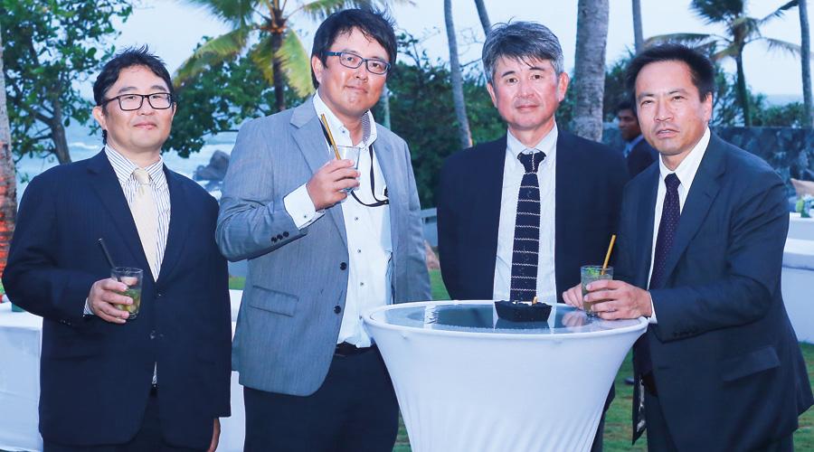 Hirawata, Suzuki, Yamaha and Kinoshita