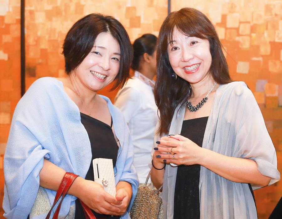 Satomi and Yukiko