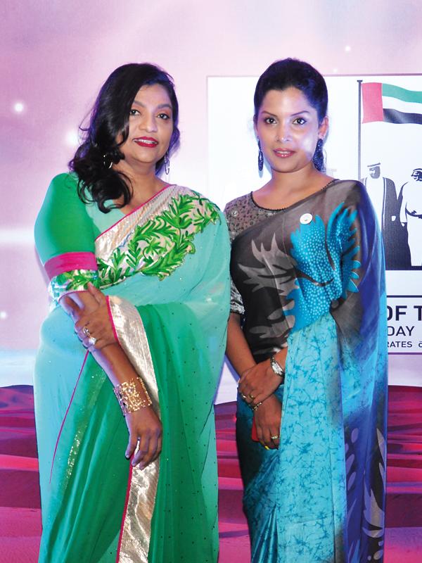 Shireen and Sajitha